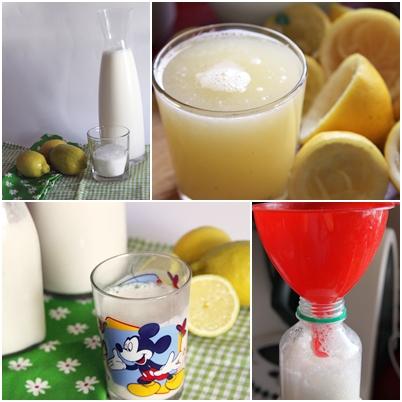 Batido de limón paso a paso