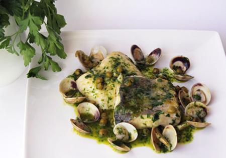 Merluza salsa verde receta