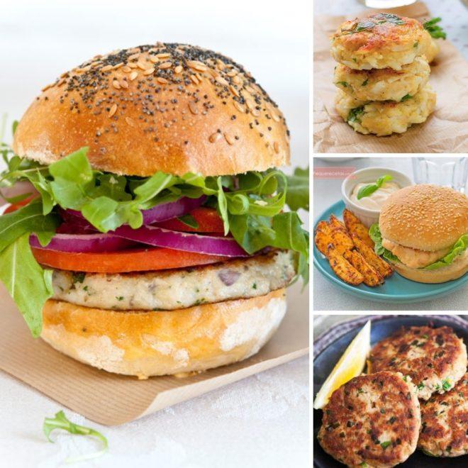 hamburguesa de pescado receta