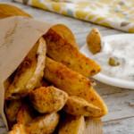 Patatas gajo con salsa tártara
