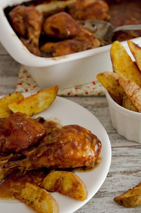 Pasos para hacer pollo a la coca cola