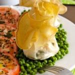 Saquitos de queso y espinacas