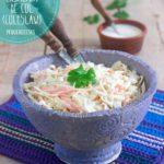 Ensalada de col (receta de Coleslaw americana)