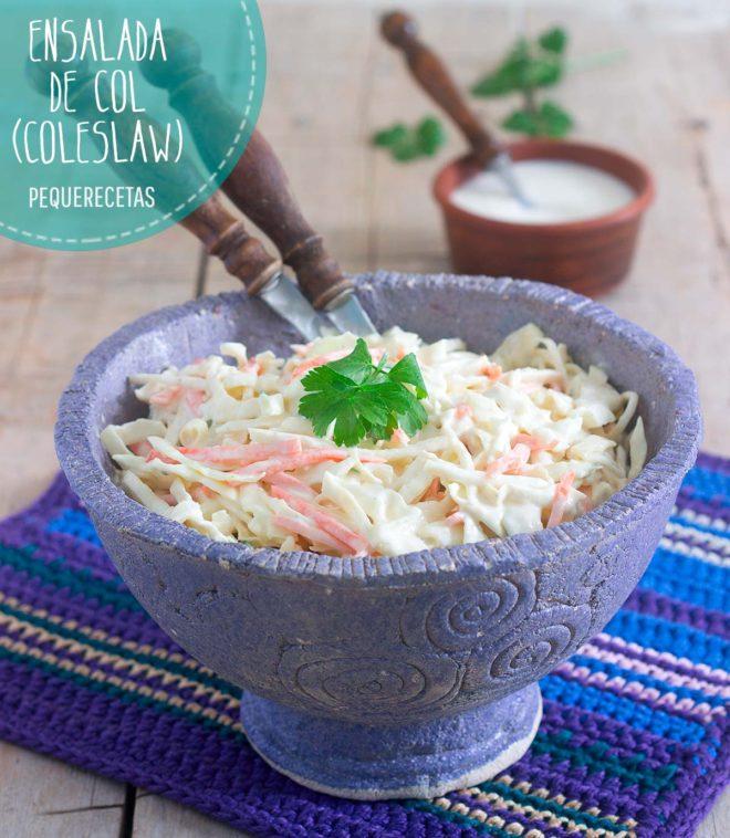 ensalada de col receta