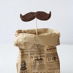 Piruletas de bigotes, ¡perfectas para cumpleaños!