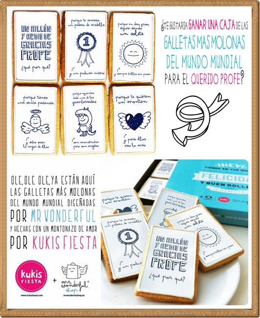Sorteo Mr Wonderful