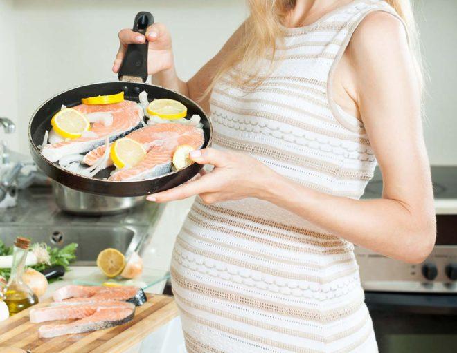 pescado embarazadas