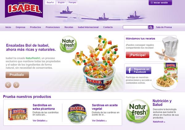 Isabel web