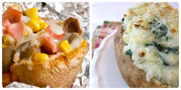 patatas asadas receta