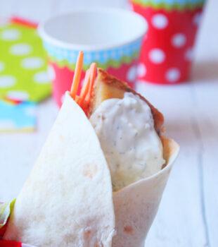 Shawarma de atun