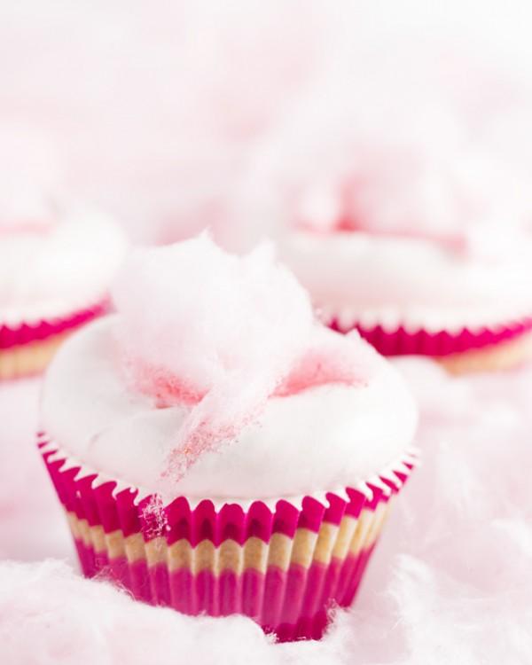 cupcakes algodon de azucar
