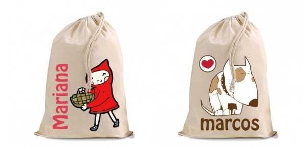 bolsas merienda personalizadas