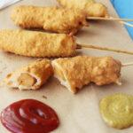 Corn Dogs con Salchichas de atún Isabel