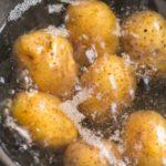 como cocer patatas con piel