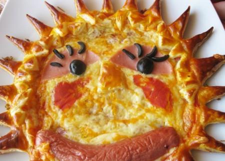pizza para niños