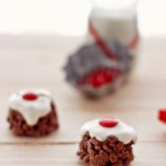 Dulces navideños de chocolate para niños