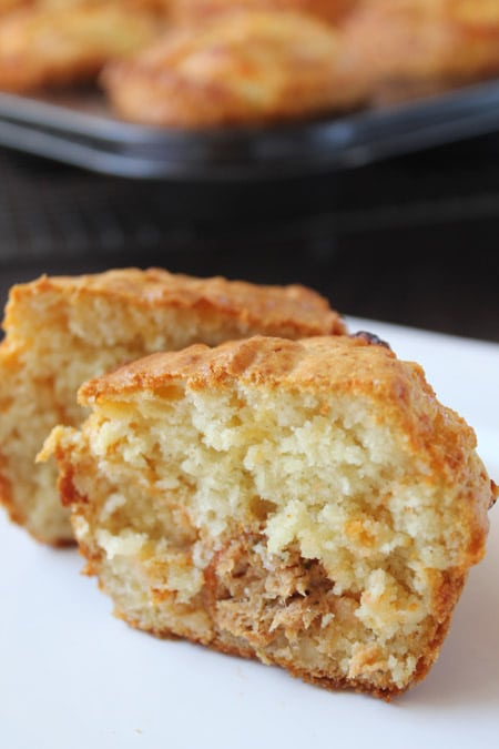 Muffins de atun