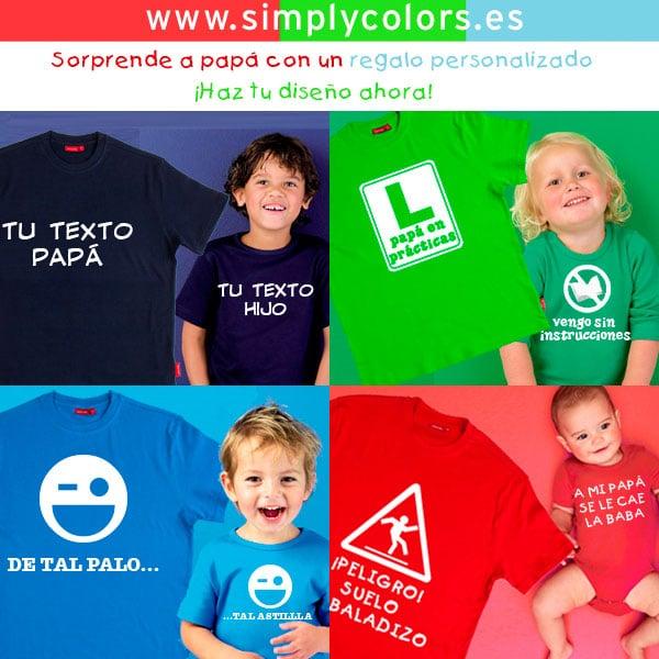 Sorteo de un pack personalizable de Simply Colors para el Día del Padre