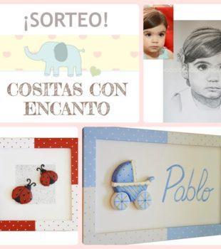 Sorteo de cuadros infantiles personalizables de Cositas con Encanto