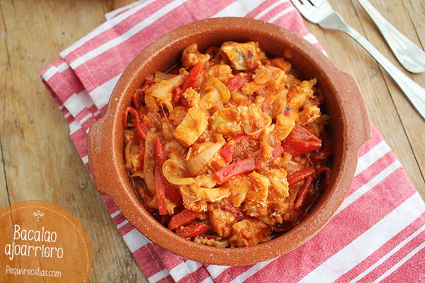 receta de bacalao ajoarriero