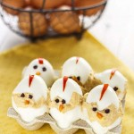 Pollitos de Pascua (huevos rellenos)
