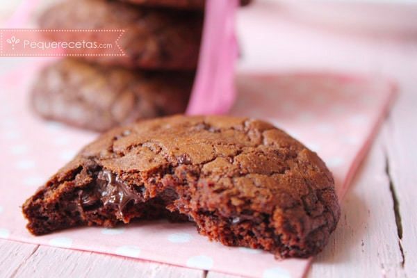 galletas de chocolate faciles