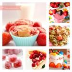 Recetas con fresas, ¡postres con fresas y mucho más!