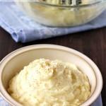 Puré de patatas casero