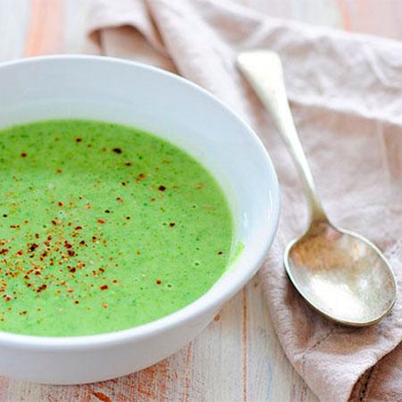 crema de brócoli receta