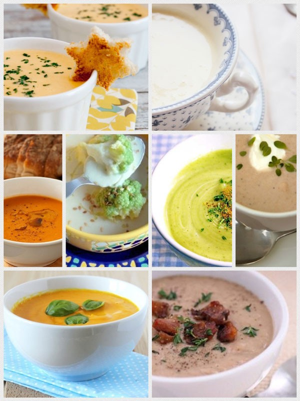 como hacer crema de verduras para dieta