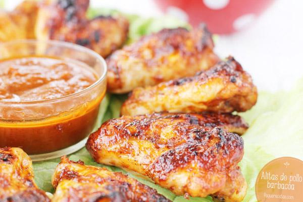 Alitas de pollo barbacoa