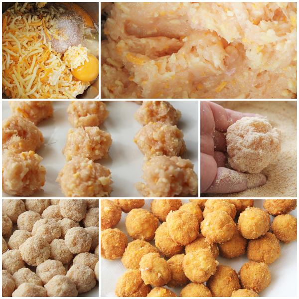 Chupachups de pollo receta