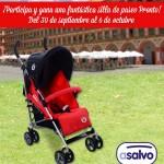 SORTEO: ¡Gana esta silla de paseo de Asalvo!