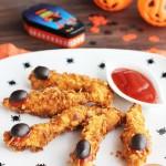 Fingers de pollo crujientes, ¡una receta terrorífica!
