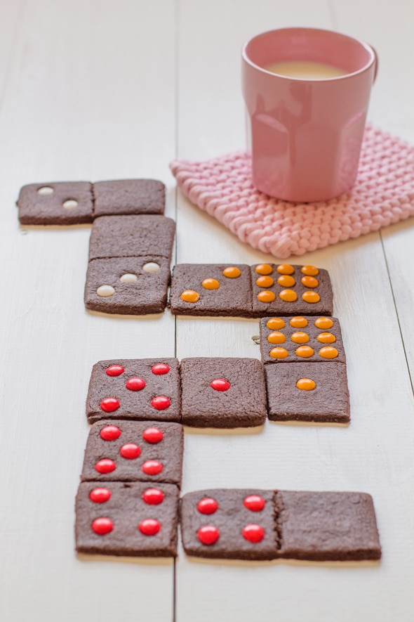 galletas domino, una deliciosa merienda divertida