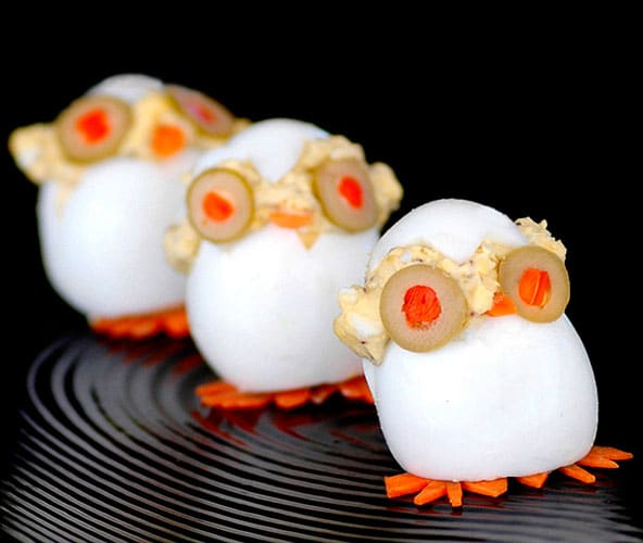 huevos rellenos huebuhitos