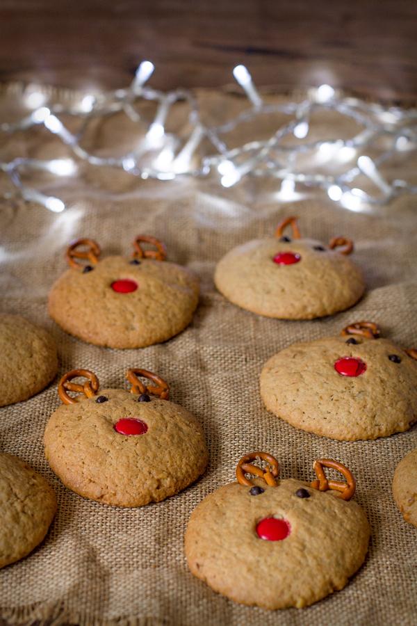 galletas de vainilla y nueces