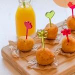 Cenas ligeras: Bolitas de calabacín crujientes