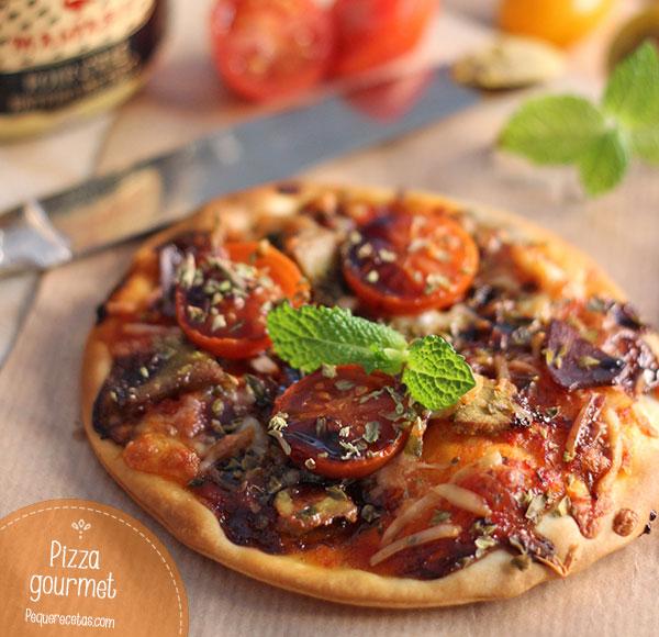 Pizza de foie