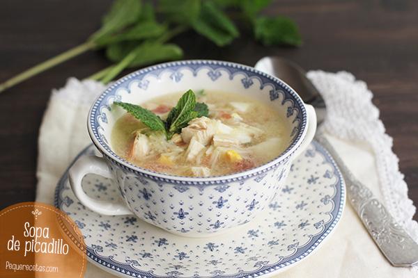 Sopa de picadillo Pequerecetas (2)
