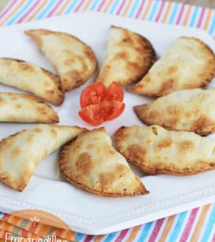 Empanadillas de pollo y verduras Pequerecetas