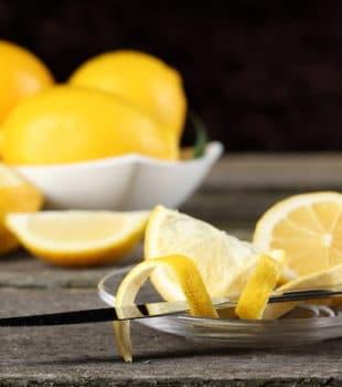 usos para la piel de limón en la cocina