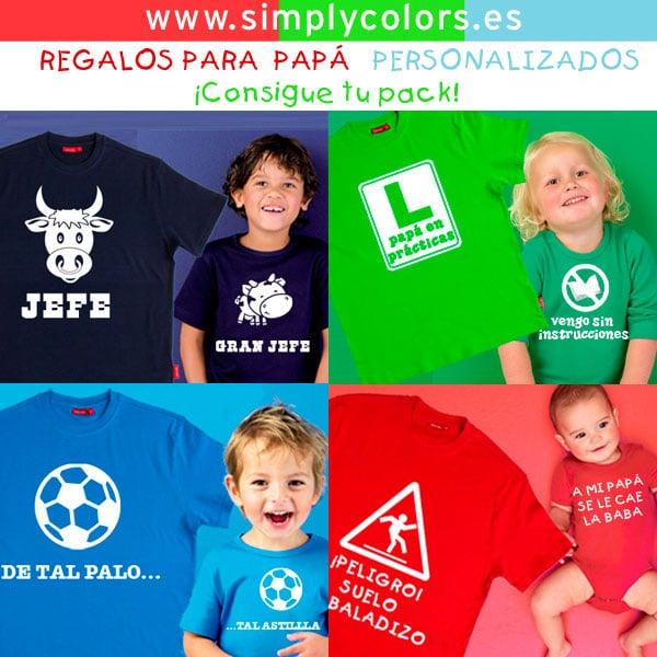 Regalamos 2 camisetas para el Día del Padre