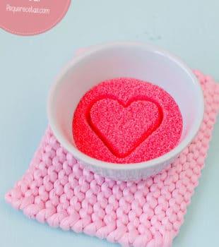 teñir azúcar