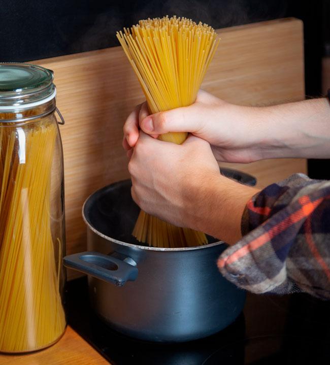 tiempo para cocer pasta