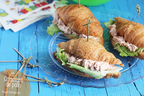 Croissants de pollo, receta paso a paso