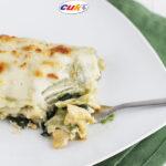 Lasaña de espinacas y pollo Cuk, ¡sana y deliciosa!