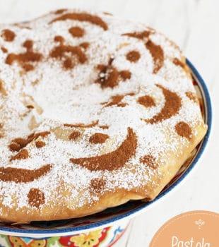 Pastela de pollo marroquí