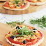 Pizza de pollo, receta