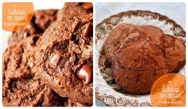 galletas sin gluten y sin huevo